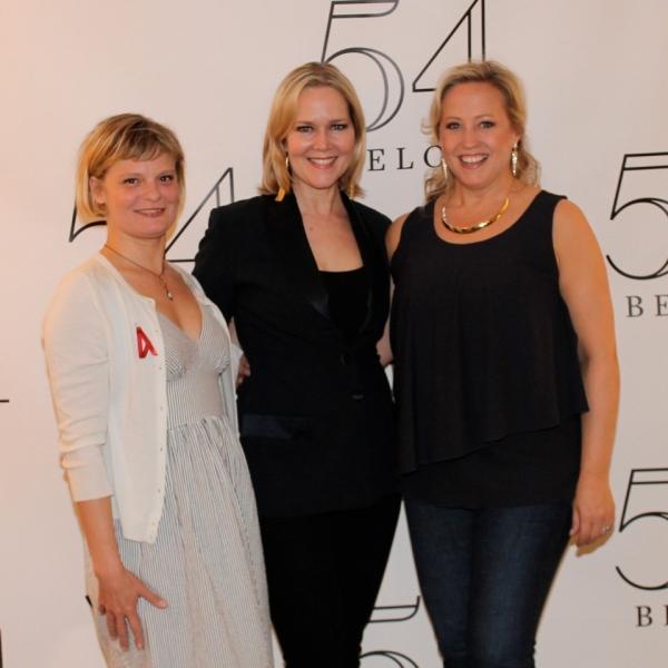 Martha Plimpton, Rebecca Luker and Sally Wilfert backstage