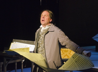 BWW REVIEW: 'AMADEUS' BORDERS ON DIVINE AT NEW REP