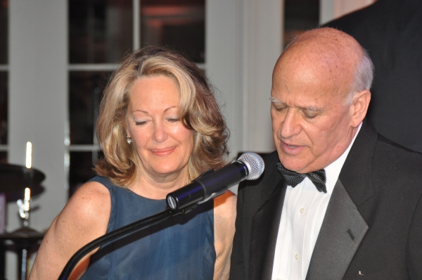 Carolyn Ferolito (Antoinette Scudder Patron of the Arts Award Recipient) and Howard H Photo