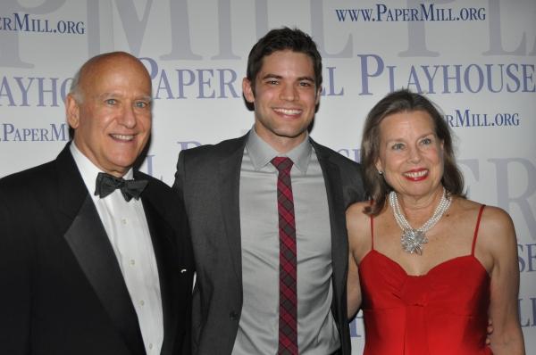 Howard Hirsch, Jeremy Jordan and Pamela Hirsch Photo