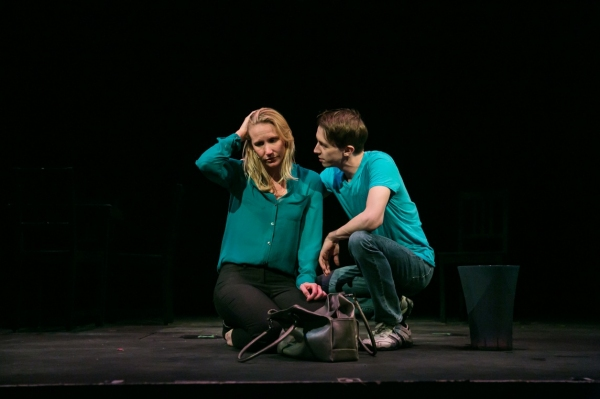 Janis Greim as Diana and Matthew Meckes as Gabe