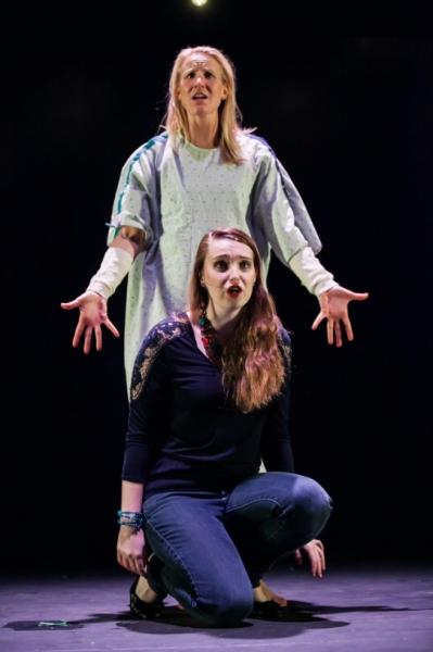 Janis Greim as Diana and Kallie Linder as Natalie