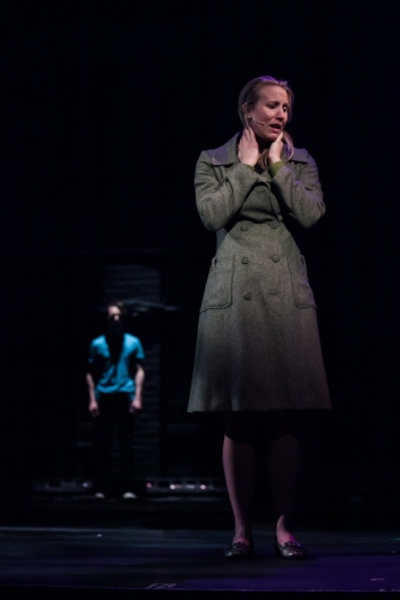 Janis Greim as Diana and Matthew Meckes as Gabe