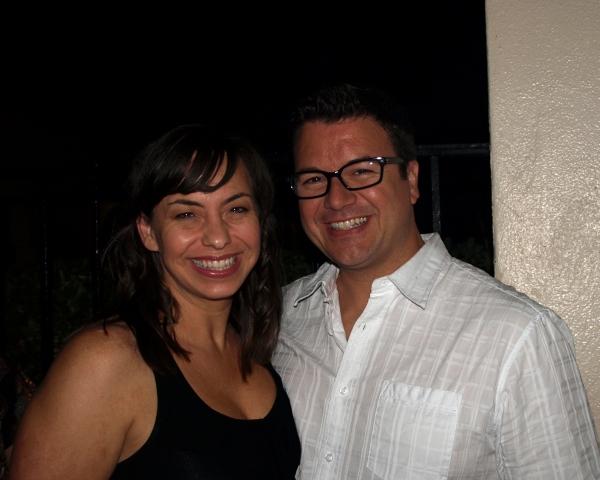 Darcie Roberts and Troy Magino Photo
