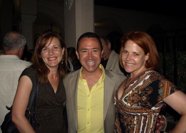 Kim Huber, Steven Glaudini, and Bets Malone