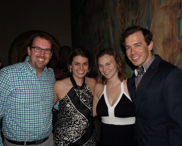 Brad Fitzgerald, Kristen Lamoureux, Bobbie Ford, and Zachary Ford