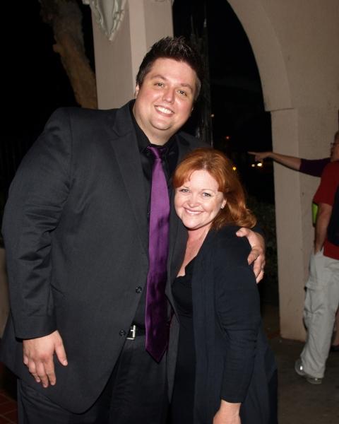 Director T.J. Dawson and Shauna Markey
