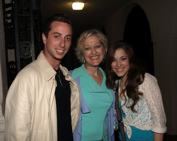 Nick Bernardi, Tamara Zook, and Tessa Grady