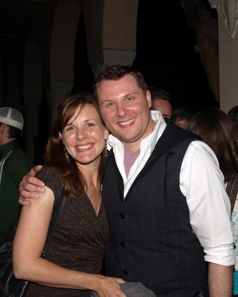 Kim Huber and William Martinez