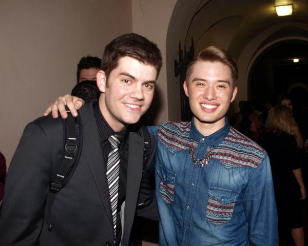 Jordan Lamoureux and Chester Lockhart