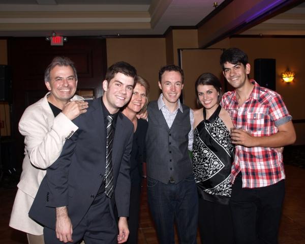 Jordan Lamoureux, Julie Lamoureux, Allen Everman, Kristen Lamoureux, and Musical Director David Lamoureux
