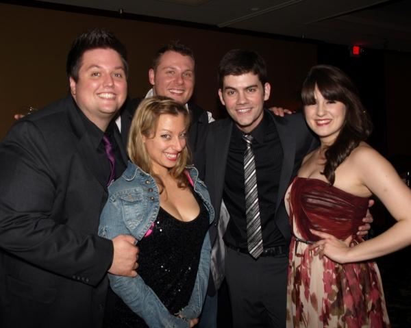 T.J. Dawson, Jeanette Dawson, William Martinez, Jordan Lamoureux, and Micaela Martinez
