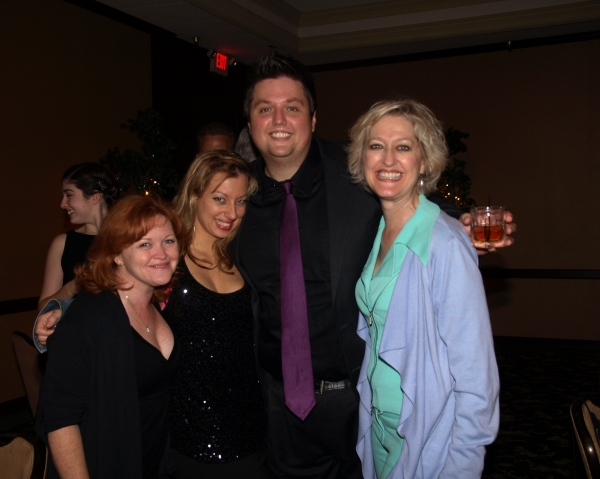 Shauna Markey, Jeanette Dawson, T.J. Dawson, and Tamara Zook