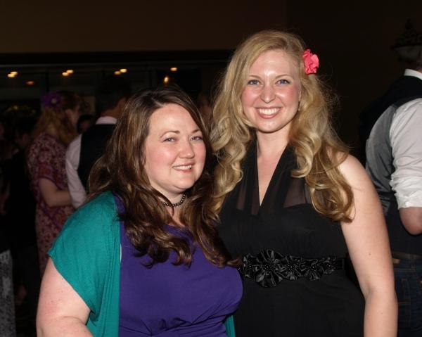 Kathy Deitch and Abby Bolin