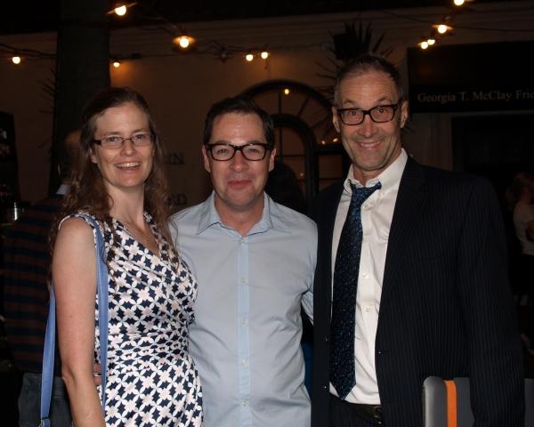 Elizabeth Doran, French Stewart, and Brian Brophy Photo