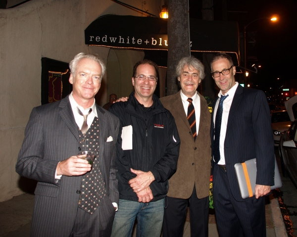 Phil Proctor, Roger Steffens, and Brian Brophy