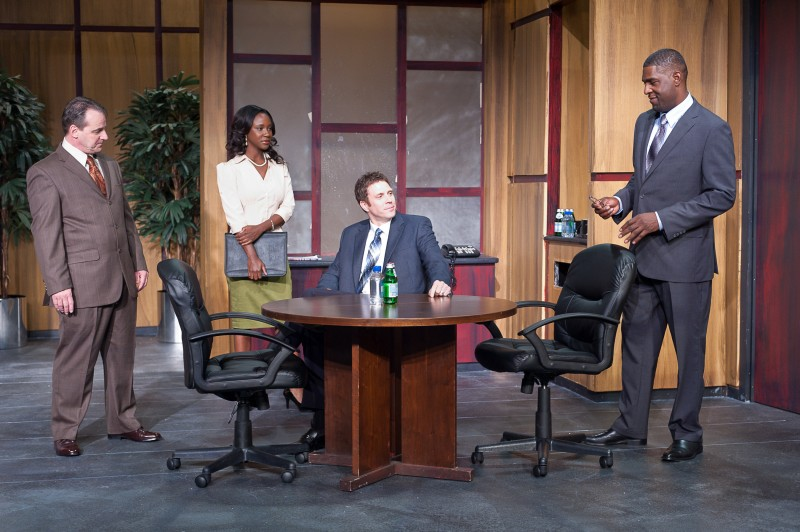 BWW Reviews: The Ensemble Theatre's RACE is Timely, Relevant, and Poignant