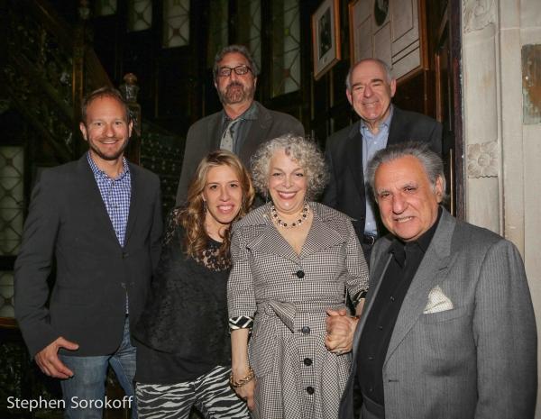 Sam Hoffman,Peter Gethers, Lenny Wolpe, Michele Slonim,Marilyn Sokol, Stewie Stone Photo