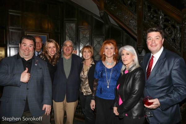 Bob Greenberg,Michele Slonim, Friar, Carol Scibelli, Dr. Judy Kuriansky, Jamie deRoy, Photo