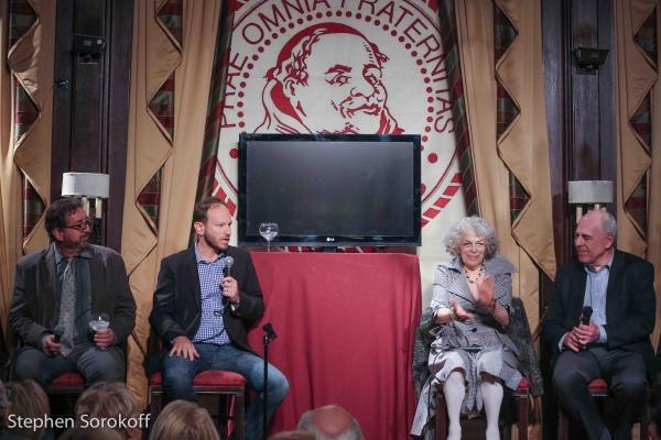 Peter Gethers, Sam Hoffman, Marilyn Sokol, Lenny Wolpe Photo