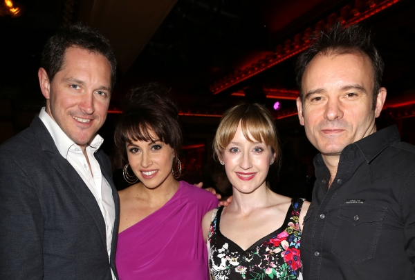 Matilda stars Bertie Carvel, Lesli Margherita, Lauren Ward, and director Matthew Warchus