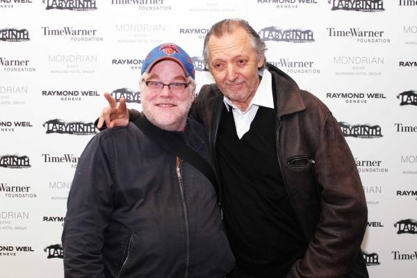 Philip Seymour Hoffman and Bob Glaudini Photo