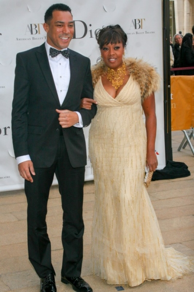 Charl Brown and Star Jones