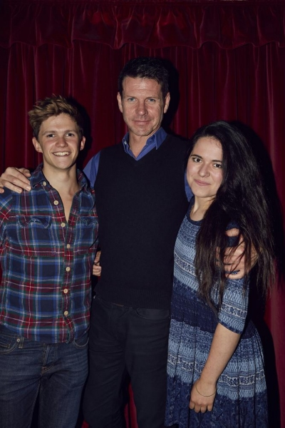 Tom Prior, Lloyd Owen and Abigail Rose
