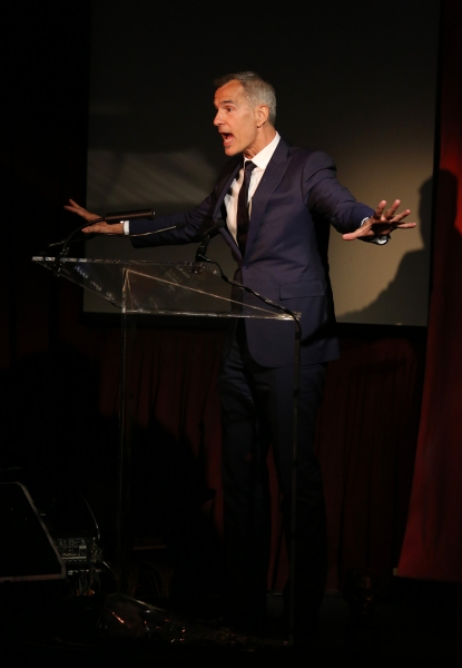 Exclusive Photo Coverage: Harvey Fierstein, Cyndi Lauper and More Present the 'Mr. Abbott' Award to Jerry Mitchell!