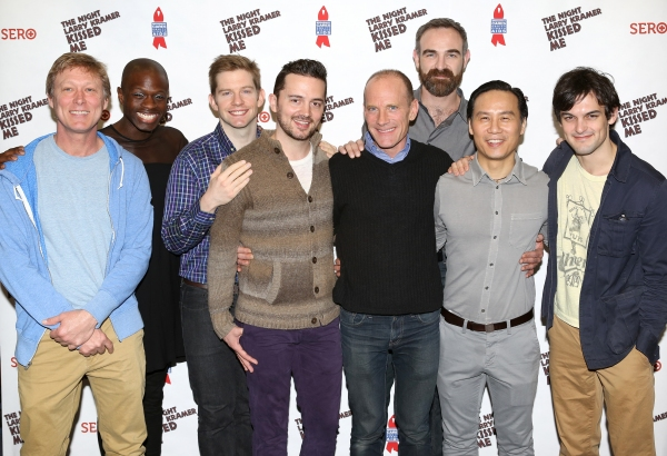 Director Robert La Fosse, Donald C. Shorter Jr., Rory OÕMalley, Chad Ryan, David Drake, Aaron Tone, B.D. Wong, and Wesley Taylor