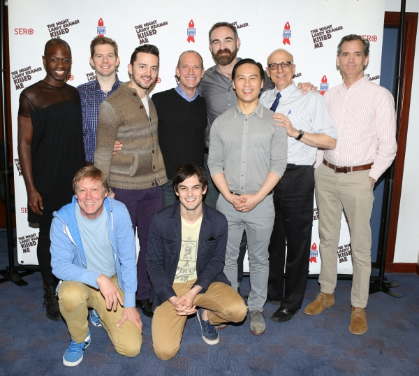 Photo Coverage: THE NIGHT LARRY KRAMER KISSED ME Cast Meets the Press!
