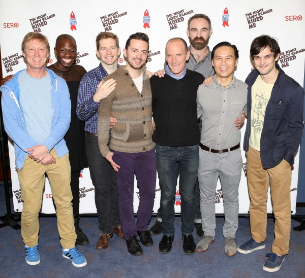 Director Robert La Fosse, Donald C. Shorter Jr., Rory O''Malley, Chad Ryan, David Drake, Aaron Tone, B.D. Wong, and Wesley Taylor