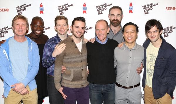 Director Robert La Fosse, Donald C. Shorter Jr., Rory O''Malley, Chad Ryan, David Drake, Aaron Tone, B.D. Wong, and Wesley Taylor