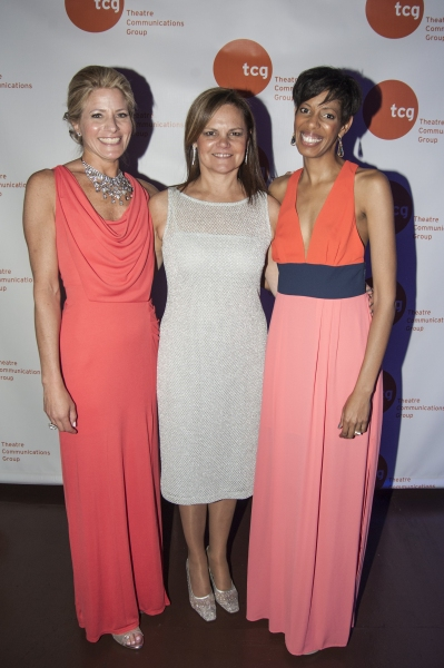 Photo Flash: Tony Kushner, Jessica Hecht, Ming Cho Lee and More at TCG's 2013 Gala
