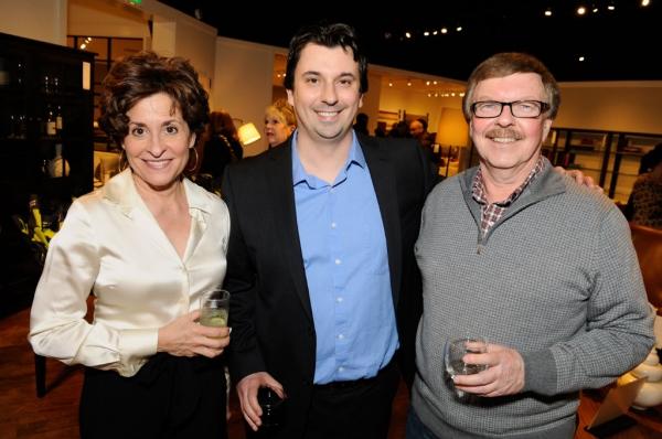 Lucinda Johnston, Steve Shine, Ken Shine Photo
