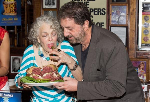 Photo Coverage: Carnegie Deli Unveils OLD JEWS TELLING JOKES Sandwich!
