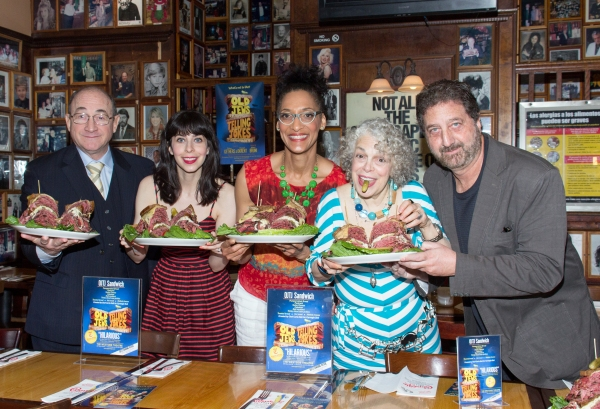 Todd Susman, Audrey Lynn Weston, Carla Hall, Marilyn Sokol, Peter Gethers Photo