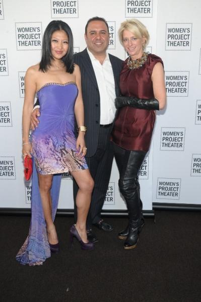 Tina Storper, John Mahdessian, Dorinda Medley