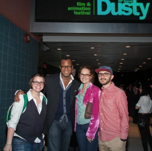 Rachel Scott, 2013 Thesis Student; WriterDirector Geoffrey Fletcher; Actor Melissa Leo; Paul Tamayo, 2013 Thesis Student