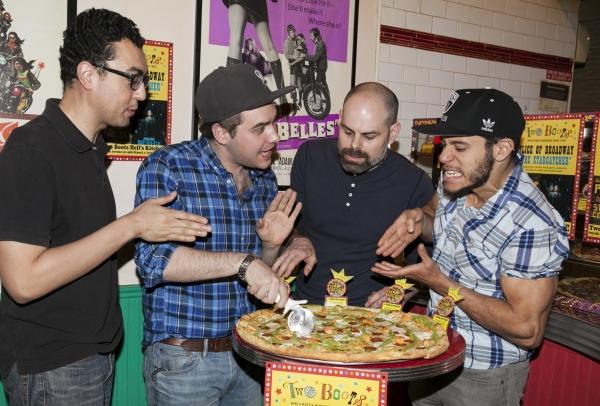 Grahm Stevens, Nate Miller, Matt D''Amico and Alex Hernandez
