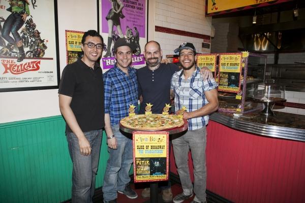 Grahm Stevens, Nate Miller, Matt D''Amico and Alex Hernadez