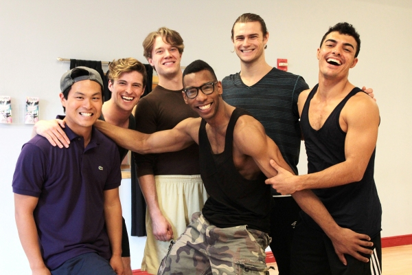 Photo Coverage: Meet the Sexy Men of Broadway- In Rehearsal for the BROADWAY BEAUTY PAGEANT
