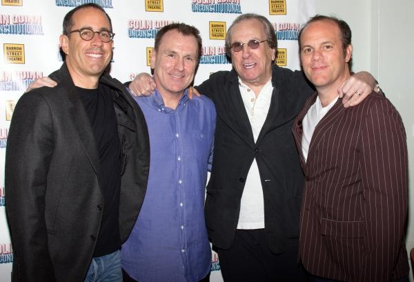 Jerry Seinfeld, Colin Quinn, Danny Aiello, Tom Papa Photo