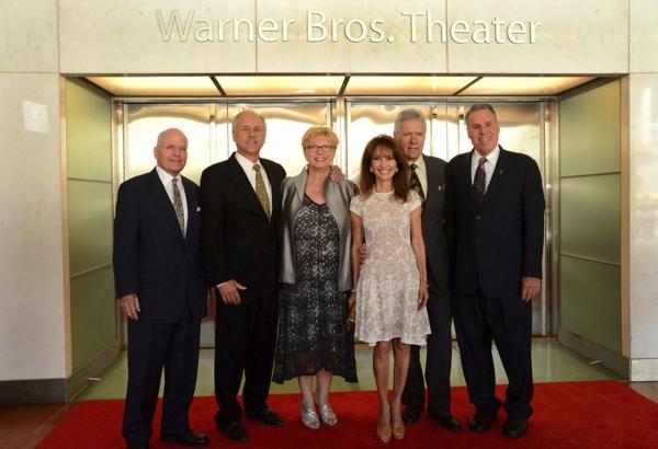 John Gray (Smithsonian Director) Phil Parker, Kathy Parker, Susan Lucci, Alex Trebek, Malachy G. Wiegnes (NATAS Chairman)