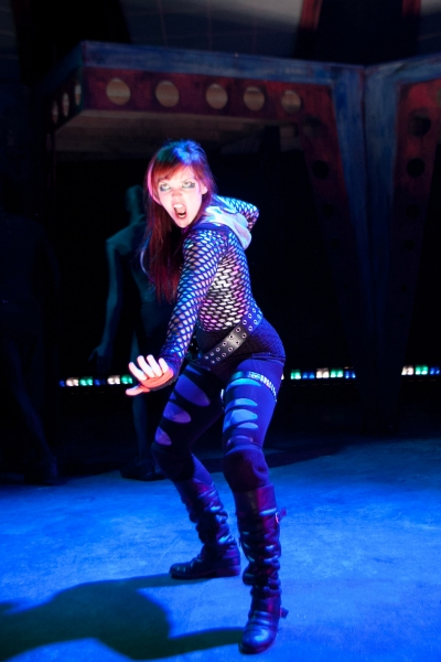 Photo Flash: First Look at InFusion Theatre's FIGHT GIRL BATTLE WORLD, Opening Tonight