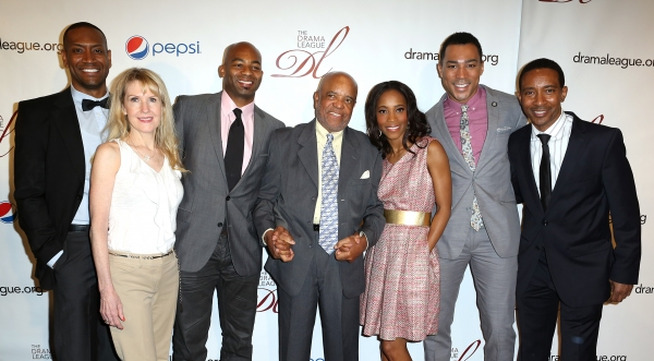 Berry Gordy with the MOTOWN Family