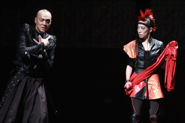 Perry Yung as Iyagu and Ai Ikeda as She-Wolf