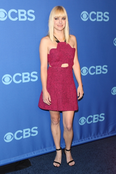 Anna Faris at the  CBS Upfront Presentation in New York (Photo by Erik Pendzich / Rex Photo