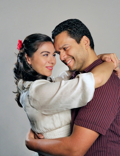 Sophia Benedetti and Carlos Monzón star as undocumented workers Figaro and Susana