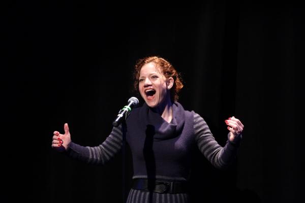 Kathy Calahan sings about everyone''s favorite dessert, ''Ice Cream'' Photo